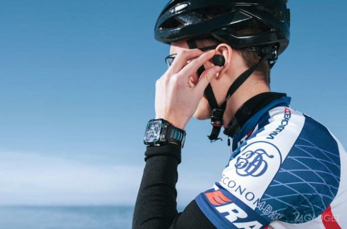 Беспроводным наушникам Sportfy смартфон не нужен (7 фото + видео)