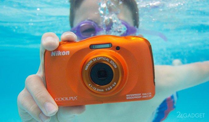 Nikon выпустила фотоаппарат, работающий даже под водой (3 фото + видео)