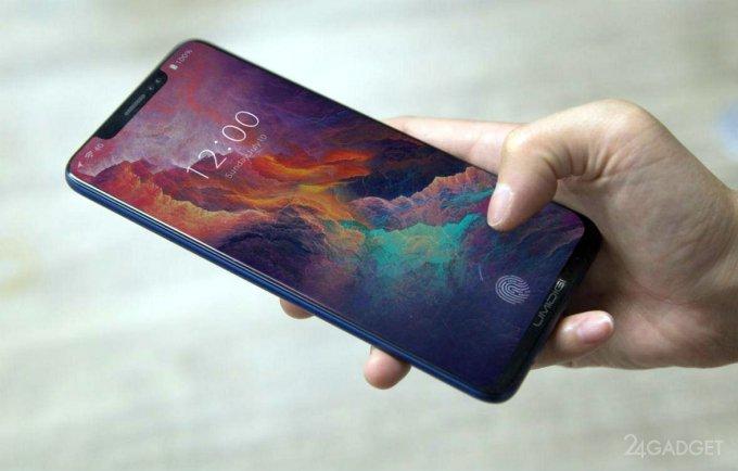 Xiaomi первой разместит сканер отпечатков под ЖК-экран (4 фото)