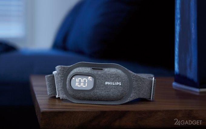 Philips выпускает «умный» ремень, избавляющий от храпа (2 фото)