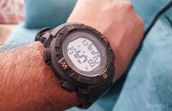 Lenovo Ego – умные часы за $29, работающие автономно 20 дней (7 дней)