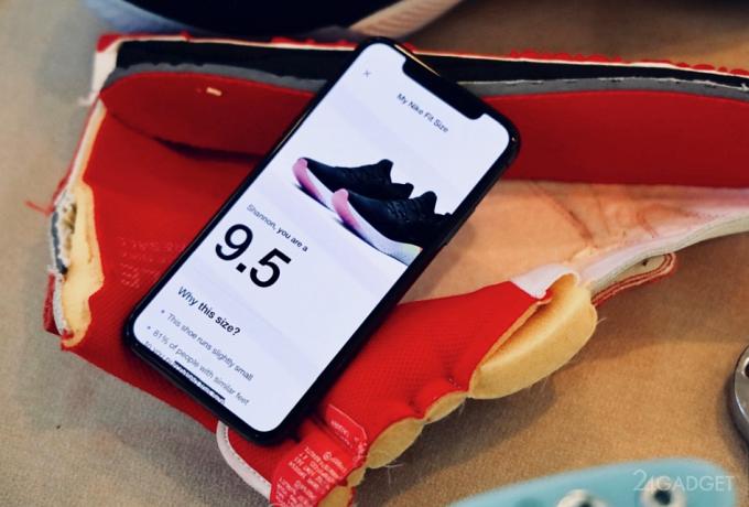 Nike правильно подберёт размер кроссовок с помощью ARKit (5 фото)