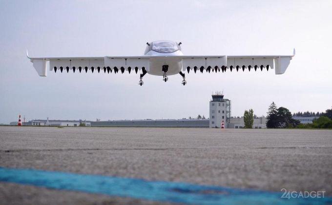 Пятиместное аэротакси успешно прошло лётное испытание (5 фото + видео)