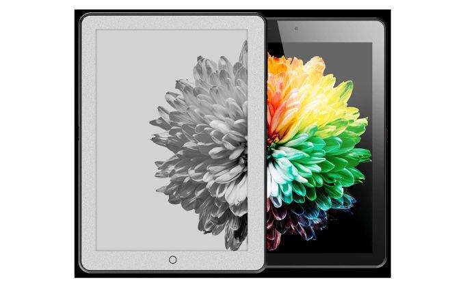 Впервые представлен планшет с дополненным черно-белым экраном (5 фото)