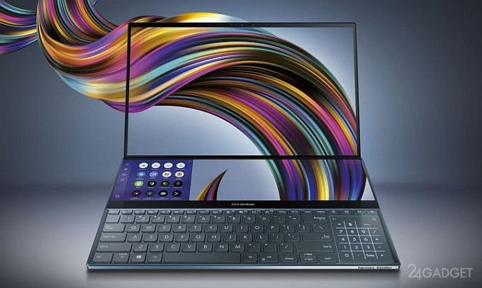 ASUS ZenBook Pro Duo — флагманский ноутбук с двумя 4К-экранами (8 фото + видео)