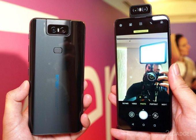 Камера-перевертыш Asus ZenFone 6 сбросила с пьедестала Galaxy S10 (6 фото)