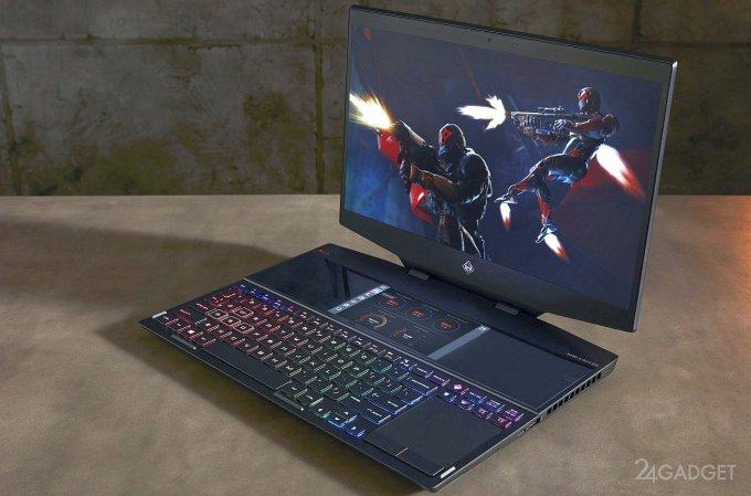 HP Omen X 2S — геймерский ноутбук с двумя дисплеями (10 фото)