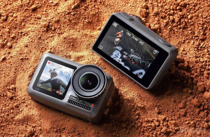 Osmo Action – первая экшн-камера от DJI и конкурент GoPro (11 фото + видео)