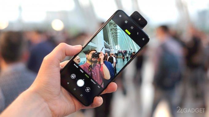 ASUS ZenFone 6 — флагман с уникальной конструкцией (12 фото + видео)