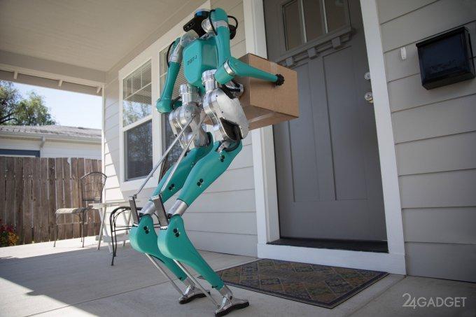 Роботизированной службе доставки от Ford люди не нужны (7 фото + видео)