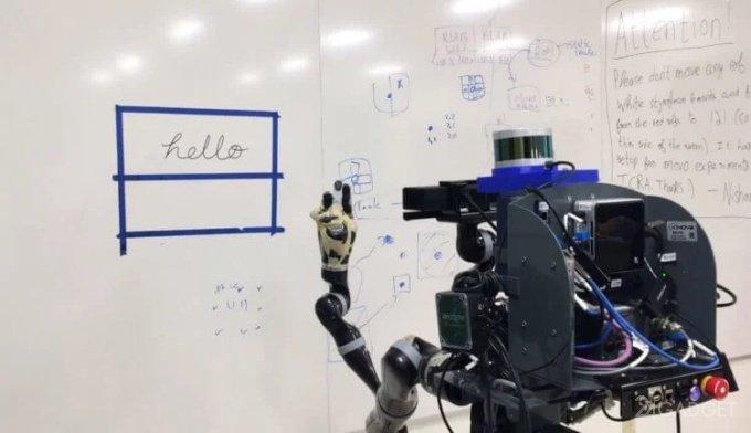 Что не под силу человеку, на то оказался способен робот: копирование почерка