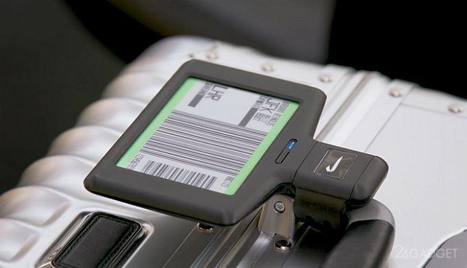 Аэропорты внедряют цифровые бирки для быстрой регистрации багажа (4 фото + видео)