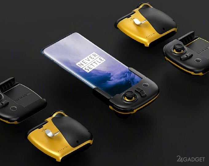 Для смартфонов OnePlus 7 и OnePlus 7 Pro выпустили игровые аксессуары (2 фото)