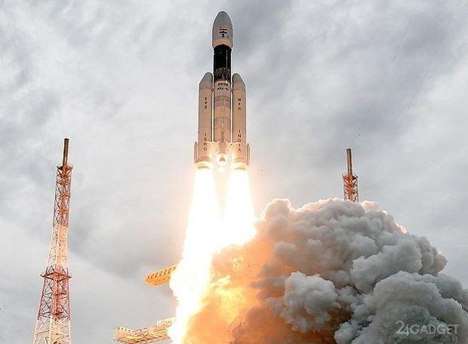 Индия запустила на Луну миссию «Чандраян-2» (4 фото)