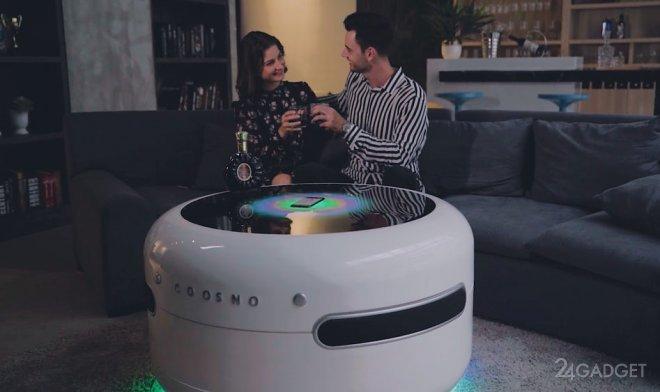 Coosno – ну очень умный и технологичный журнальный столик (2 фото + видео)