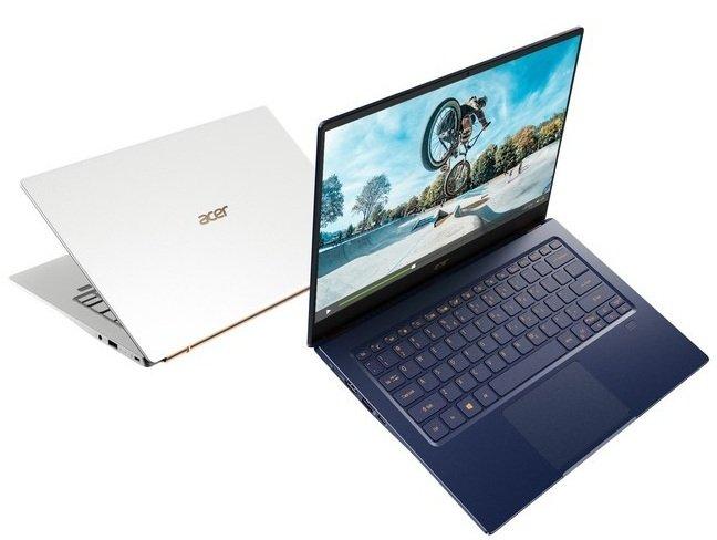 Обновленный ультрабук Acer Swift 5 с массой до одного кг