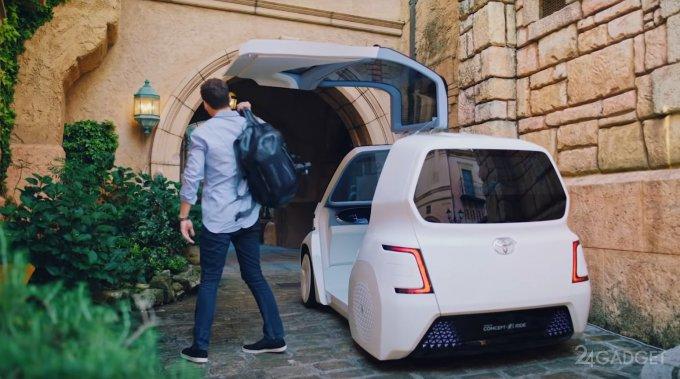 Компактный электромобиль Toyota Ultra-Compact BEV с запасом хода в 100 км (4 фото + видео)