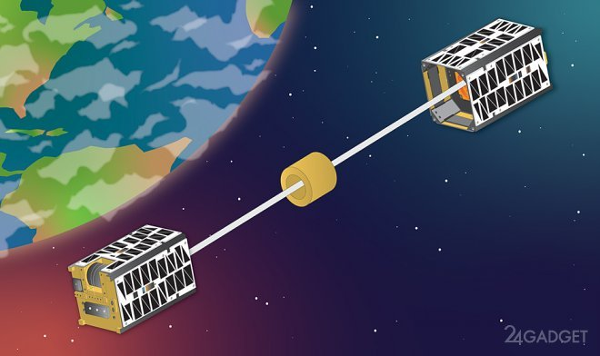 Американцы разрабатывают двигатель без топлива для утилизации спутников