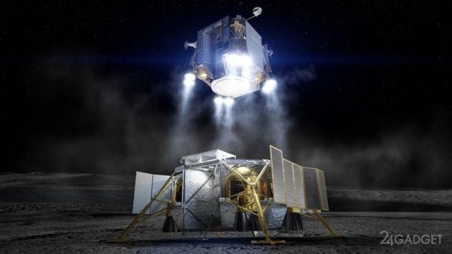 Представлена концепция высадки на Луну от компании Boeing