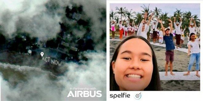Селфи из космоса для любого желающего от компании Airbus