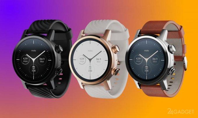 Возвращение смарт часов Motorola 360