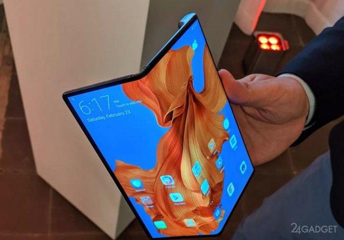 Складной смартфон Huawei Mate X 5G очень требовательный к условиям эксплуатации