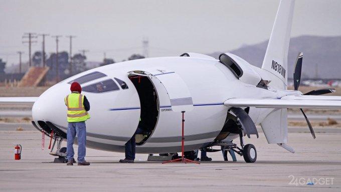 Самолет Celera 500L с «пулеобразным» фюзеляжем проходит летные испытания