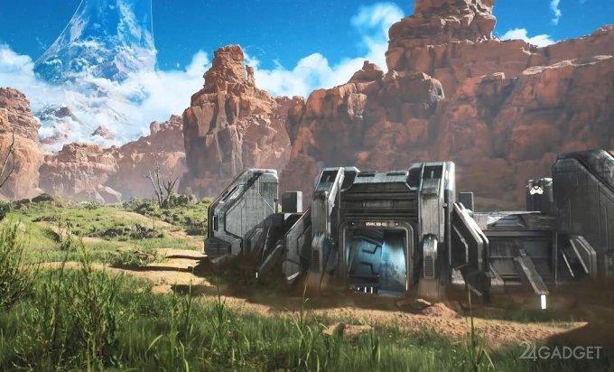 Одну из карт Halo перевели на движок Unreal Engine 4
