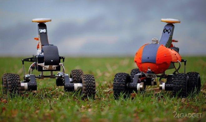 Роботы фермеры уничтожат сорняки (4 фото)