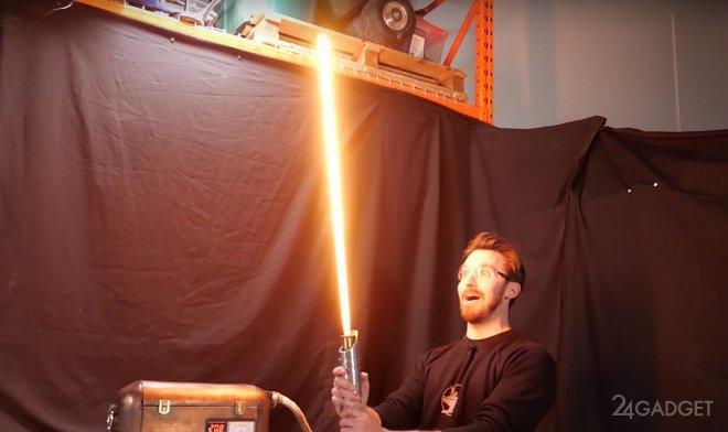 Создан протомеч аналогичный мечам джедаев из «Звездных войн» (2 фото   видео)