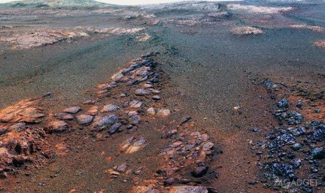 Марсоход Opportunity сделал последние фотографии