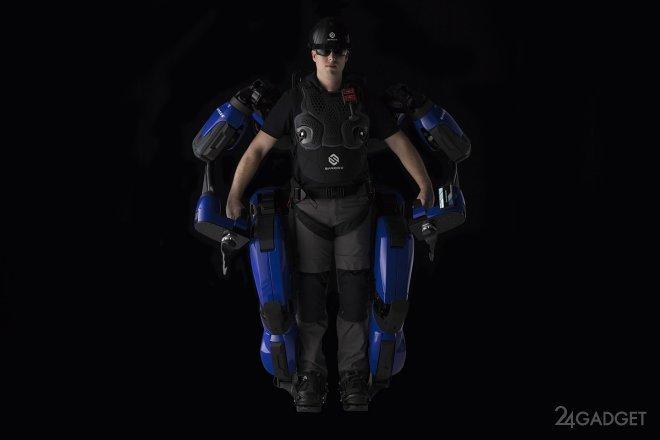 Экзоскелет Guardian XO позволит работать с 90 кг грузами (3 фото)