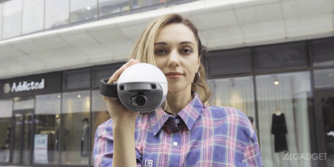 Яйцеподобная камера способна летать и самостоятельно отслеживать человека (3 фото + видео)