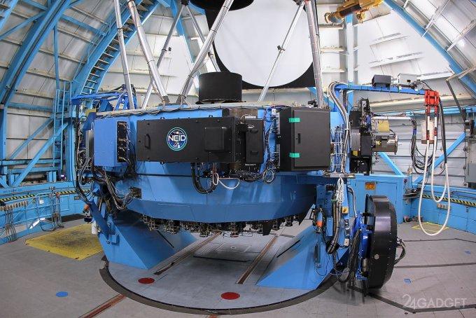 Устройство NASA NEID измерит массу любого космического тела (4 фото + видео)