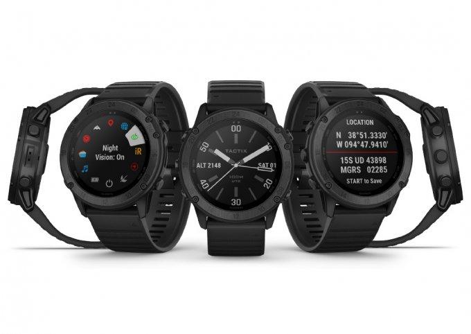 Умные часы Tactix Delta от Garmin соответствуют военным стандартам
