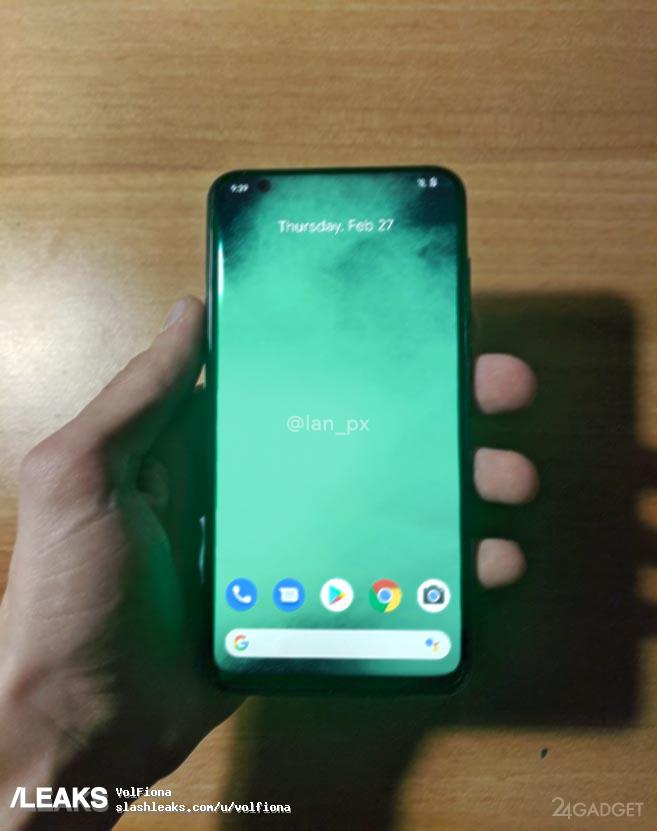 Представлены фотографии реального смартфона Google Pixel 4a (2 фото)