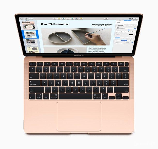 Apple презентовала обновленные MacBook Air 2020 (5 фото)