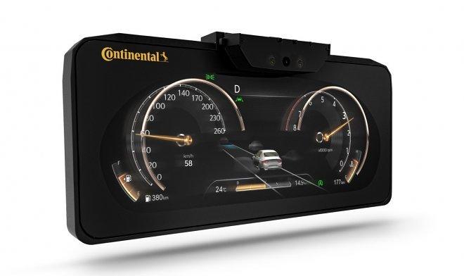Continental начала поставку серийных 3D панелей для внедорожника Genesis GV80 (2 фото)