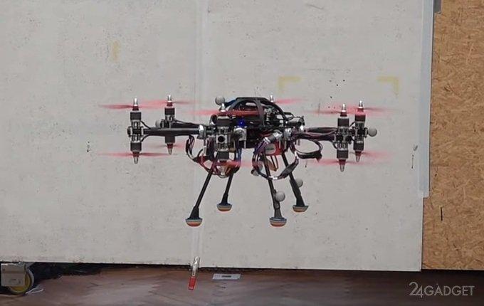 Швейцарские инженеры представили дрон с уникальными летными характеристиками (видео)