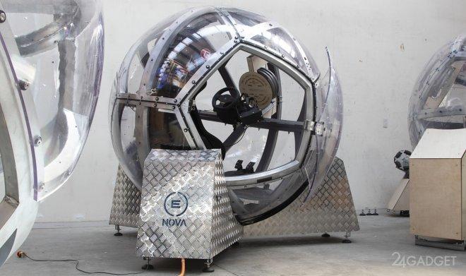 Сфера Eight360 Nova - самый реалистичный тренажер для виртуальной реальности (2 фото + видео)