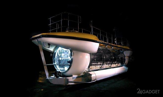 Частная подводная лодка Triton DeepView для путешествий на глубину до 100 метров (3 фото)