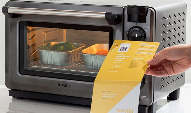 Смарт печь Tovala готовит самостоятельно по отсканированным рецептам (видео)
