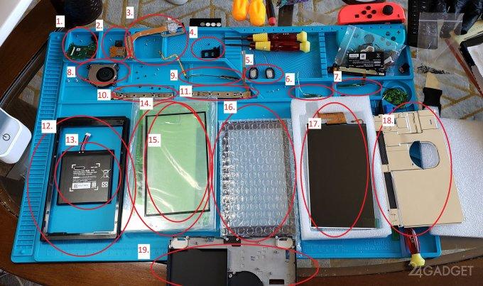 Nintendo Switch своими руками за 200 долларов (4 фото)