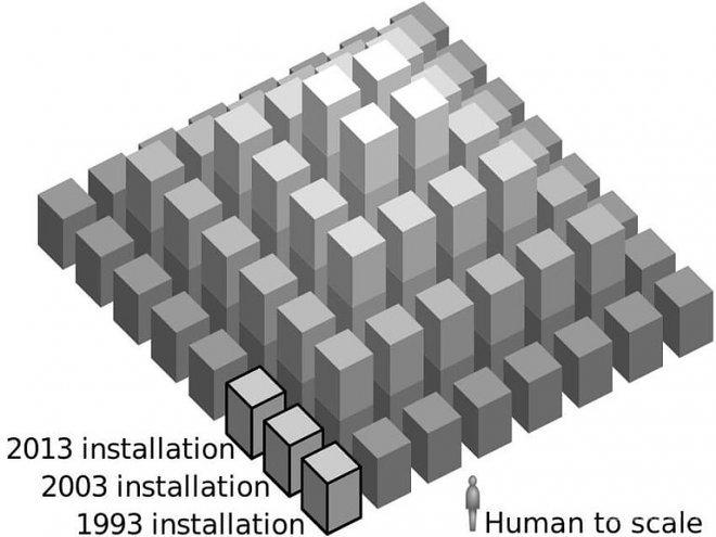 Тысячелетнее строительство «Пирамиды Времени» в Германии (4 фото)
