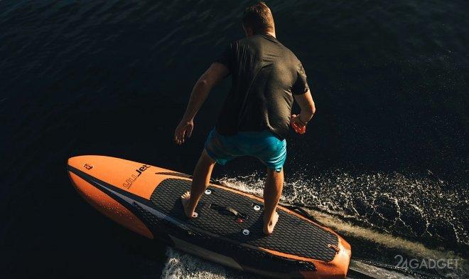 Электрический серфер YuJet Surfer со скоростью 40 км/ч (2 фото + видео)