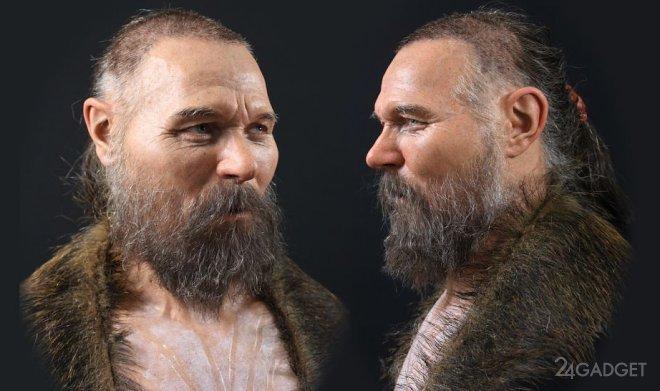 Образ человека из Каменного века был восстановлен ученым-криминалистом