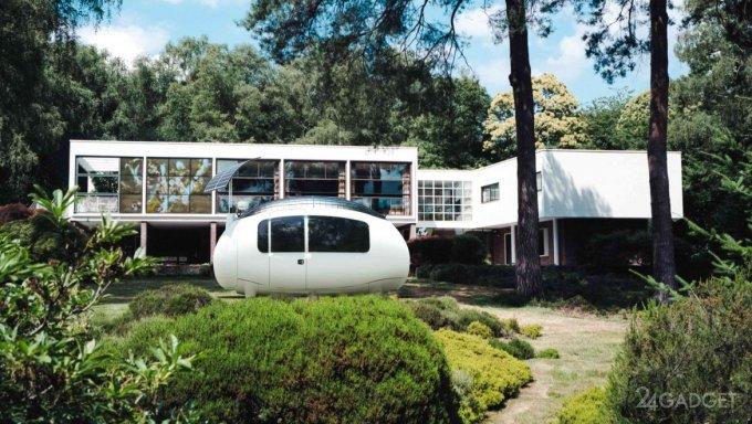 Экокапсула Space - компактный яйцеобразный дом для жизни за городом (6 фото)