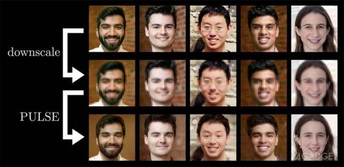 Искусственный интеллект воссоздает размытые фотопортреты с 64 кратным увеличением (3 фото)