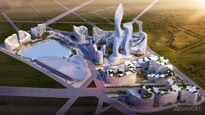 Начаты работы по созданию умного города Эйкон-Сити, с собственной криптовалютой