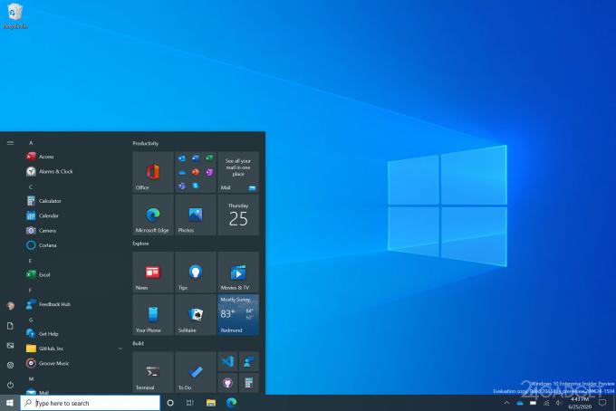 Обновленный дизайн Windows 10: полупрозрачный «Пуск», новое меню Alt-Tab и иконки